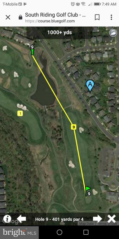 9th Hole Tee off - 43212 GOLF VIEW DR, CHANTILLY