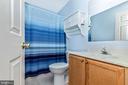 Upper Level Hall Full Bathroom - 10917 OAKCREST CIR, NEW MARKET