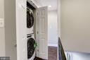 Bedroom Level Laundry - 1021 CRITTENDEN ST NE, WASHINGTON