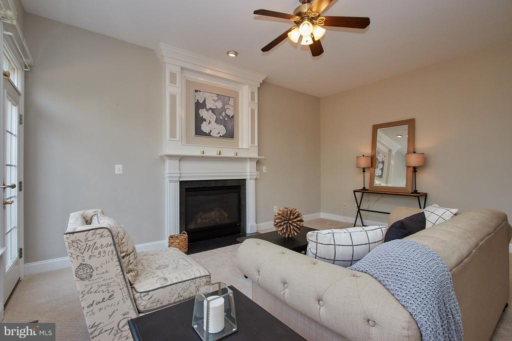 Gas Fireplace and Ceiling fan - 9742 KINLOSS MEWS, BRISTOW