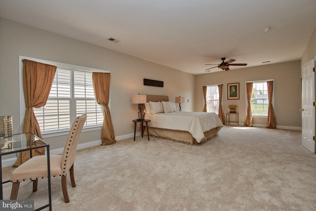 Huge Owners Suite with fersh new carpet - 9742 KINLOSS MEWS, BRISTOW