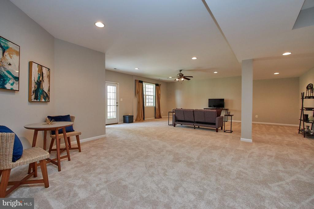 Second area of rec room - it is just so spacious! - 9742 KINLOSS MEWS, BRISTOW