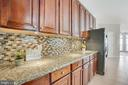 Plenty of counter space as well as cabinetry - 79 NORTHAMPTON BLVD, STAFFORD