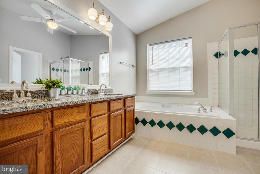 Large master bathroom with private water closet - 79 NORTHAMPTON BLVD, STAFFORD