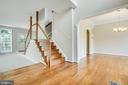 Dual staircase leading upstairs - 79 NORTHAMPTON BLVD, STAFFORD