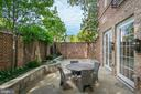 Private Patio - 1315 31ST ST NW, WASHINGTON
