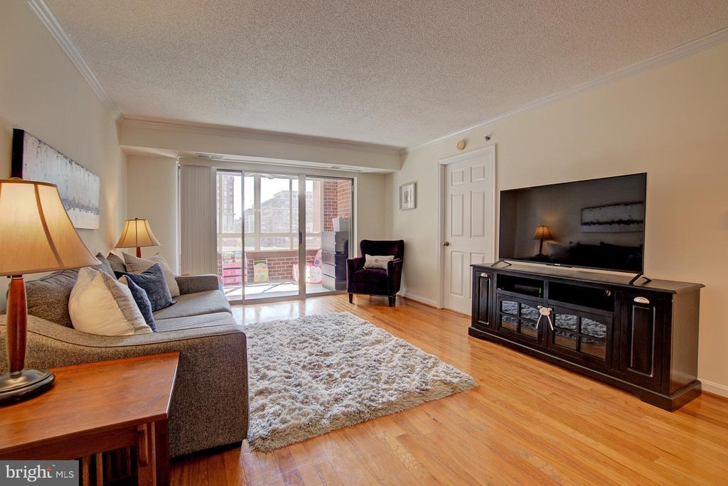 Wood floors - 2181 JAMIESON AVE #607, ALEXANDRIA