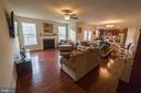 Great Room with Fireplace - 1030 ALBERT RENNOLDS DR, FREDERICKSBURG