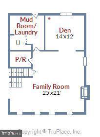 Lower Level I Floorplan. - 3140 TRENHOLM DR, OAKTON