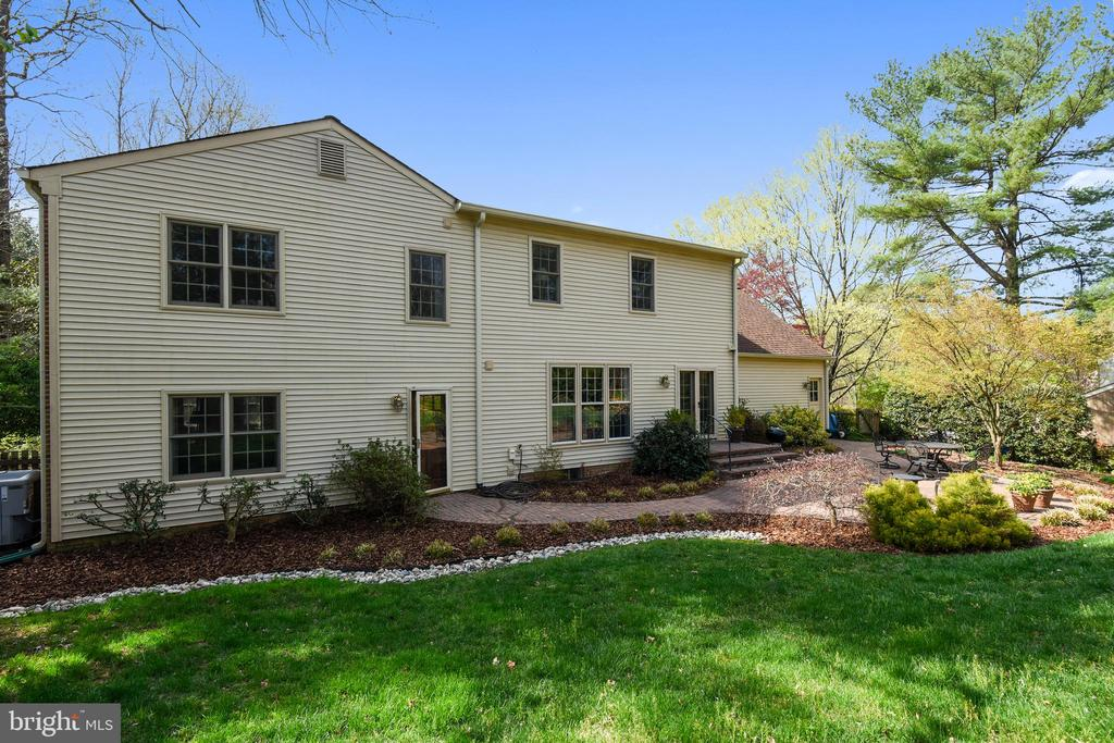 View of Rear of Home. - 3140 TRENHOLM DR, OAKTON