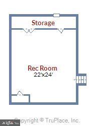 Lower Level II Floorplan.. - 3140 TRENHOLM DR, OAKTON