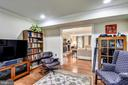 View from Den to Family Room. - 3140 TRENHOLM DR, OAKTON