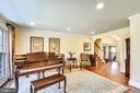 Room for Your Baby Grand Piano. - 3140 TRENHOLM DR, OAKTON
