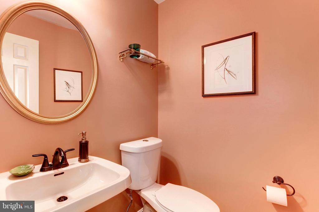 Powder Room - 4901 ESSEX AVE, CHEVY CHASE