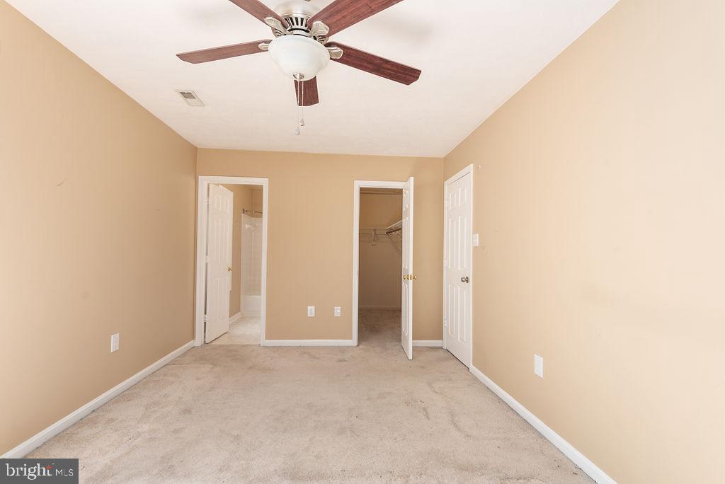 Master bedroom/ walk in closet - 13 HARRY CT, STAFFORD