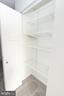 Large closets with custom closet organizers - 11114 HARBOR CT, RESTON