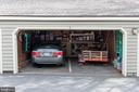 One spot per unit in shared garage - 11114 HARBOR CT, RESTON