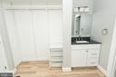 Adjoining vanity for your convenience - 11114 HARBOR CT, RESTON