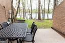 Outdoor patio for outdoor relaxation and dining - 11114 HARBOR CT, RESTON