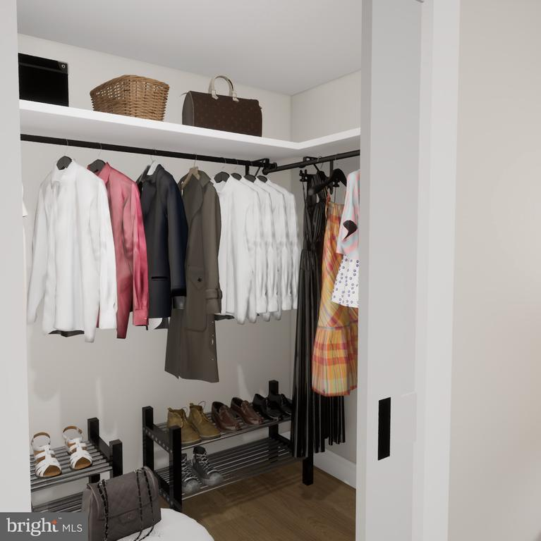 Walk-In Closets - 1211 VAN ST SE #1001, WASHINGTON