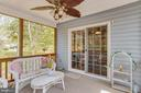 Porch view to  casual dining area - 3413 LAKEVIEW PKWY, LOCUST GROVE