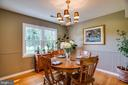 Formal Dining room - 12 ADLER LN, FREDERICKSBURG