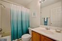 hall bath - 13102 KIDWELL FIELD RD, HERNDON