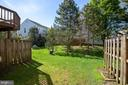 large back yard - 13102 KIDWELL FIELD RD, HERNDON