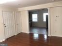 Kitchen from main living/family room - 4130 4TH ST SE #4, WASHINGTON