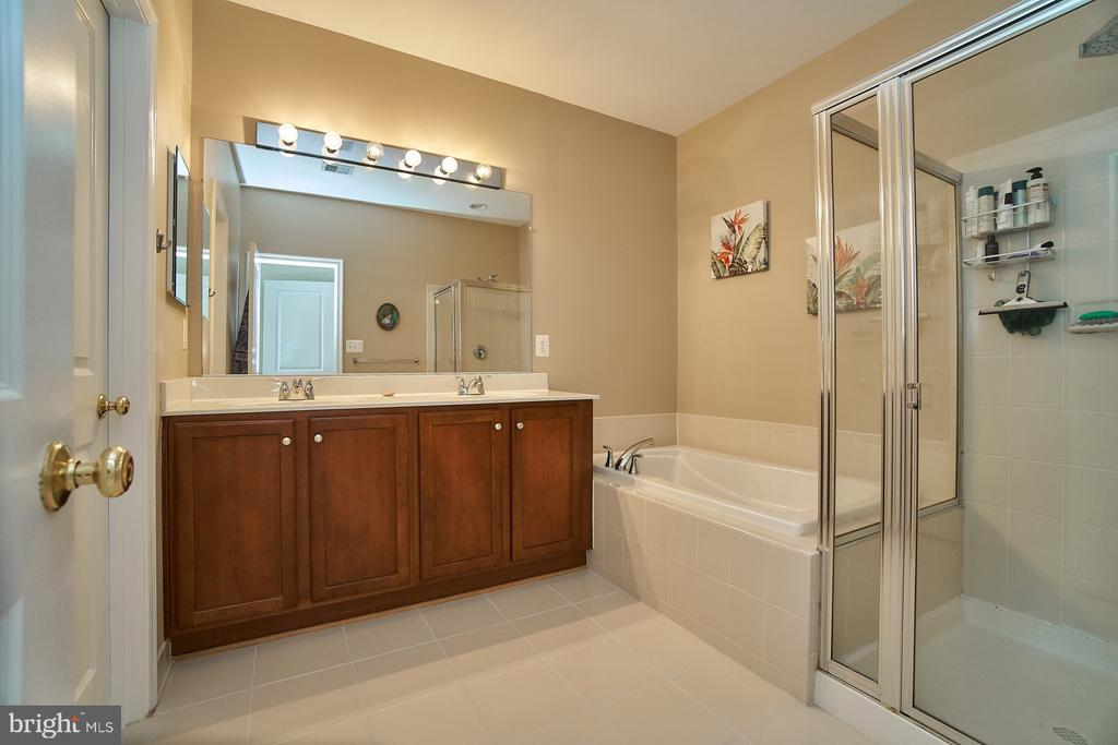 Two sinks, separate tub and shower - 7953 CRESCENT PARK DR #153, GAINESVILLE