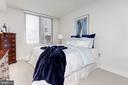 Spacious master bedroom - 555 MASSACHUSETTS AVE NW #217, WASHINGTON