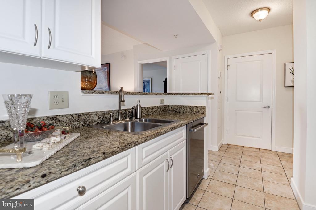 Granite countertops & stainless steel appliances - 555 MASSACHUSETTS AVE NW #217, WASHINGTON