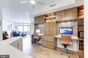 Master Craftsman designed home office - 11990 MARKET ST #1103, RESTON
