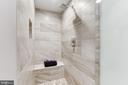 Master Bath Shower - 11990 MARKET ST #1103, RESTON