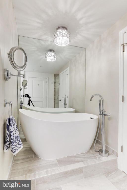 Free Standing Bathtub, Porcelain floors - 11990 MARKET ST #1103, RESTON