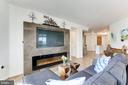 Living Room - 11990 MARKET ST #1103, RESTON