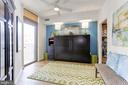 Second Bedroom w/Custom Murphy Bed - 11990 MARKET ST #1103, RESTON