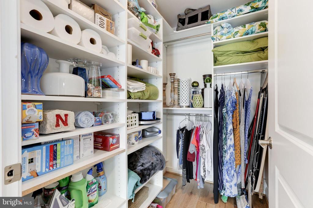 Customized Second Bedroom Closet - 11990 MARKET ST #1103, RESTON