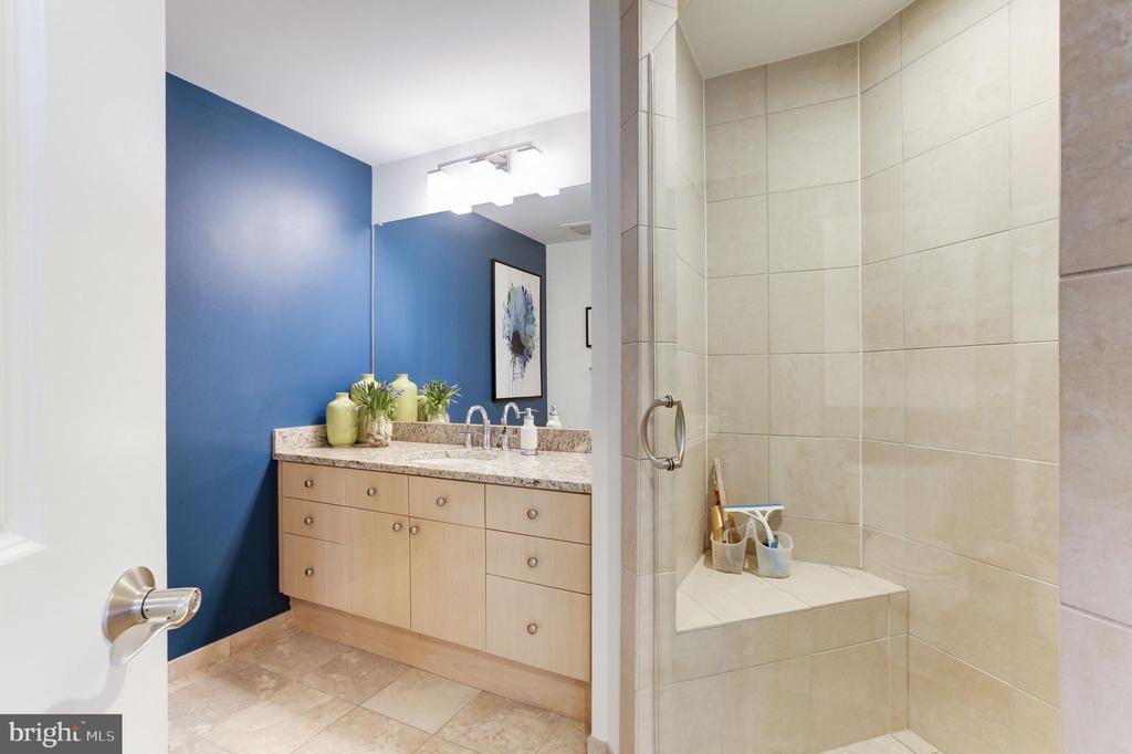 Second Full Bath shower - 11990 MARKET ST #1103, RESTON