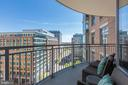 Balcony Access from Second Bedroom - 11990 MARKET ST #1103, RESTON