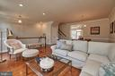 Relax in your new elegant living room. - 1220 S GLEBE RD, ARLINGTON