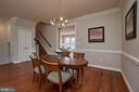 Elegant dining room perfect for entertaining. - 1220 S GLEBE RD, ARLINGTON