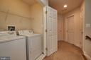 Convenient washer dryer laundry on upper level #1. - 1220 S GLEBE RD, ARLINGTON