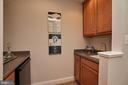 Mini wet bar on lower level/basement level. - 1220 S GLEBE RD, ARLINGTON