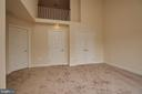Newly carpeted master bedroom suite. - 1220 S GLEBE RD, ARLINGTON
