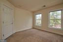 One of three carpeted bedrooms on upper #1. - 1220 S GLEBE RD, ARLINGTON