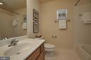 Hall bath on upper level #1. - 1220 S GLEBE RD, ARLINGTON