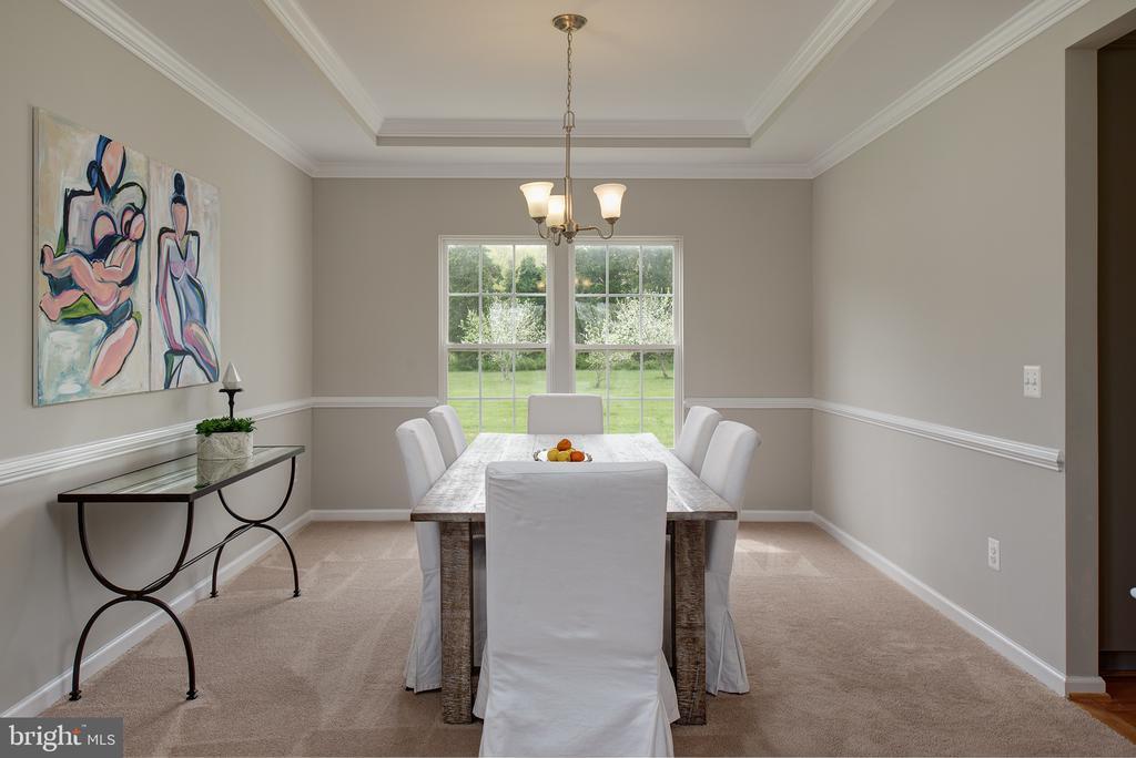 Dining room - 11384 FALLING CREEK DR, BEALETON