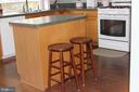 kitchen island - 20980 STRAWRICK TER, ASHBURN
