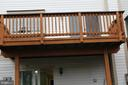 deck oversees common areas - 20980 STRAWRICK TER, ASHBURN